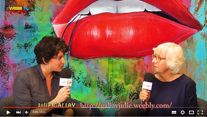 Interview sur webtv info Charente Maritime