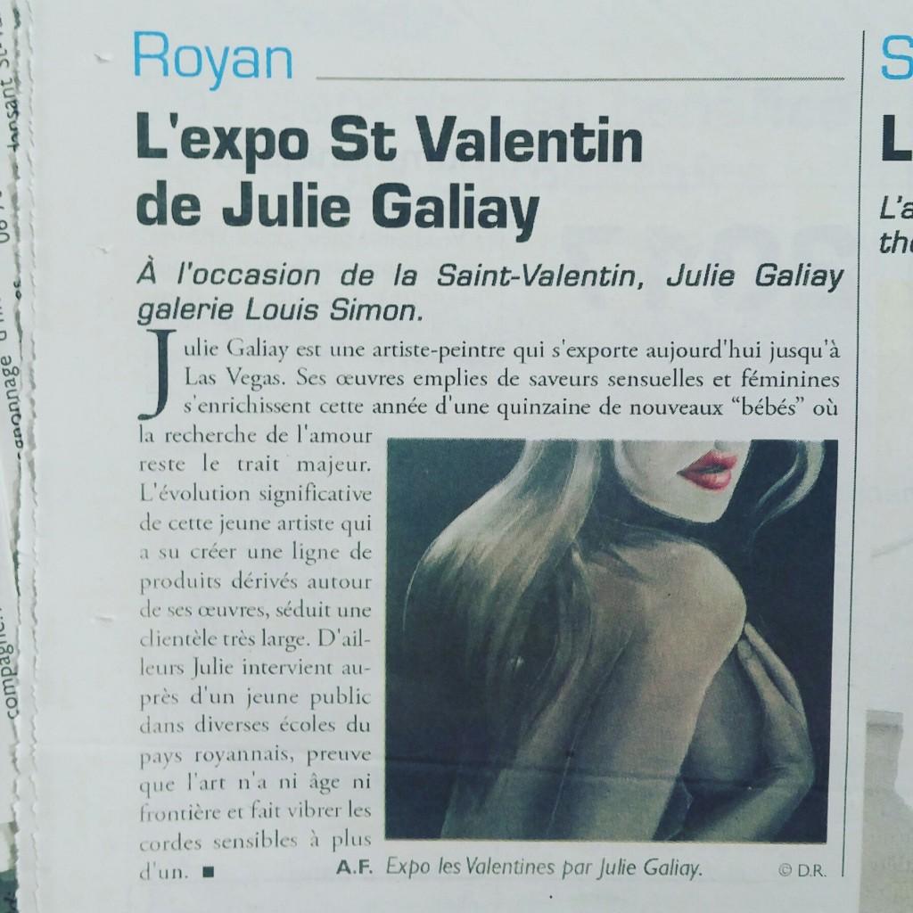 L'expo St Valentin de Julie Galiay
